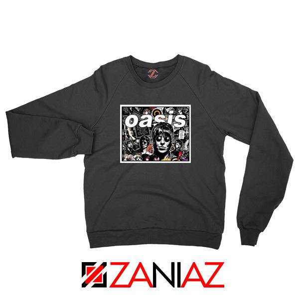 Oasis Band Collage Sweatshirt