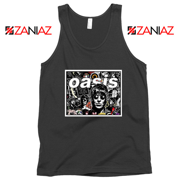 Oasis Band Collage Tank Top