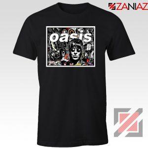Oasis Band Collage Tshirt