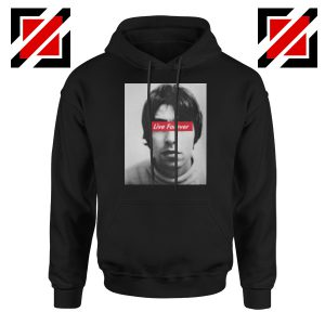 Oasis Band Live Forever Hoodie