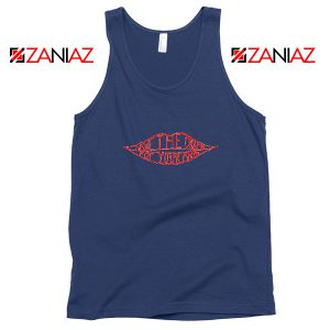 Save The Drama Navy Blue Tank Top