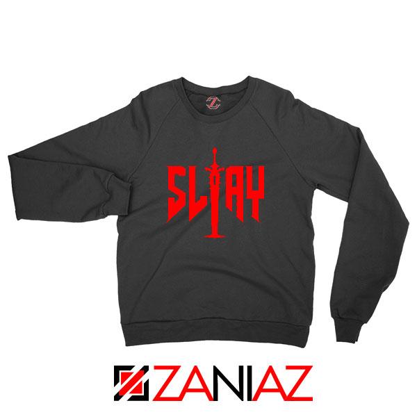 Slay Doom Black Sweatshirt