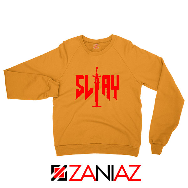 Slay Doom Orange Sweatshirt