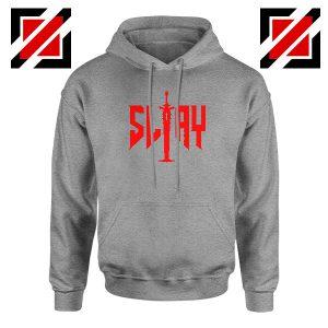 Slay Doom Sport Grey Hoodie