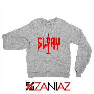 Slay Doom Sport Grey Sweatshirt