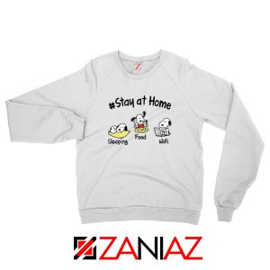 Snoopy Stay Home Sweatshirt