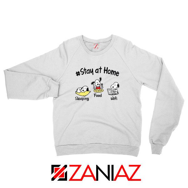 Snoopy Stay Home Sweatshirt