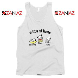Snoopy Stay Home Tank Top