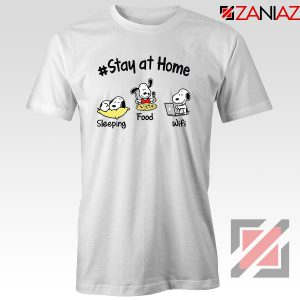 Snoopy Stay Home Tshirt