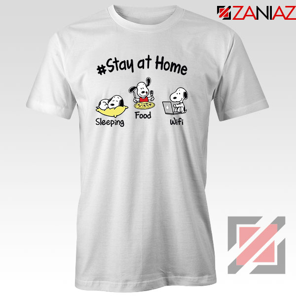 Snoopy Stay Home Tshirt