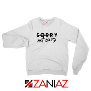 Sorry Not Sorry Lyrics Sweatshirt