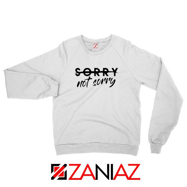 Sorry Not Sorry Lyrics Sweatshirt