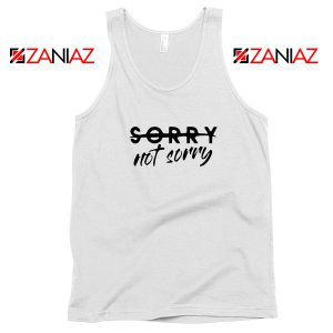Sorry Not Sorry Lyrics Tank Top