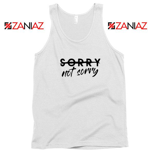 Sorry Not Sorry Lyrics Tank Top