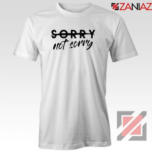 Sorry Not Sorry Lyrics Tshirt