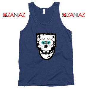 Spongebob Misfits Navy Blue Tank Top