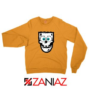 Spongebob Misfits Orange Sweatshirt