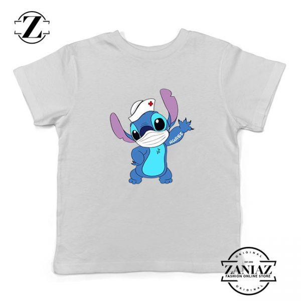 Stitch Nurse Kids Tshirt