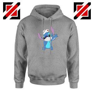 Stitch Nurse Sport Grey Hoodie