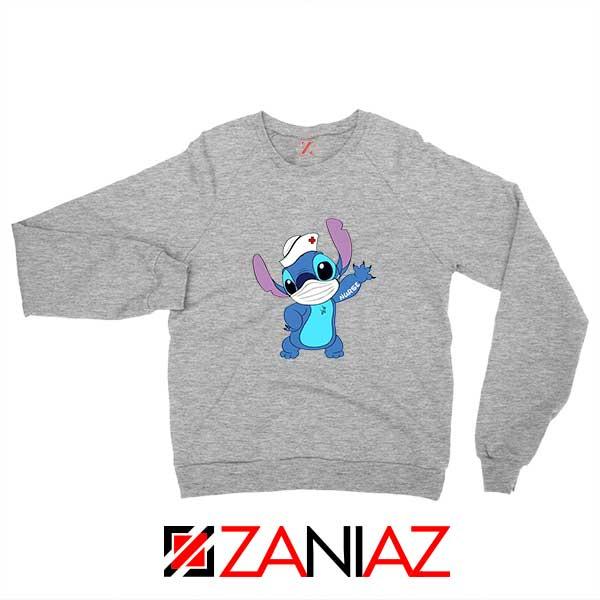 Stitch Nurse Sport Grey Sweatshirt