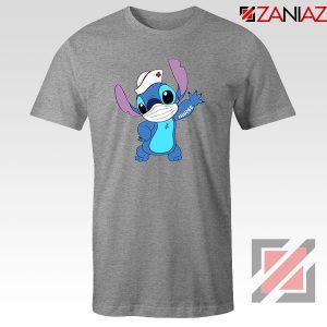 Stitch Nurse Sport Grey Tshirt