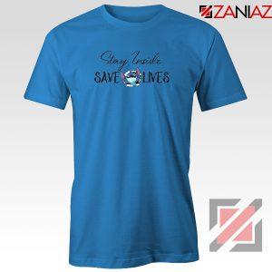 Stitch Social Distancing Blue Tshirt
