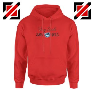 Stitch Social Distancing Red Hoodie