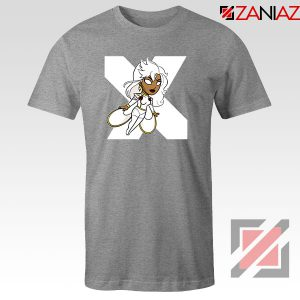 Strom Superhero X Men Sport Grey Tshirt