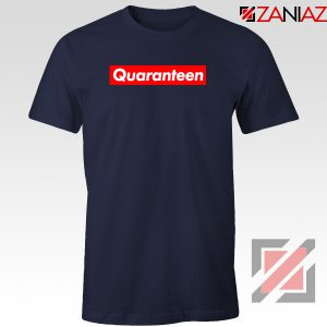 Supreme Quarantine Navy Blue Tshirt