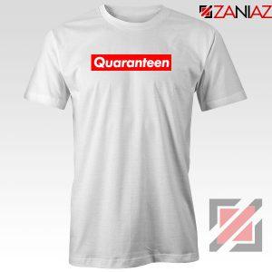 Supreme Quarantine White Tshirt