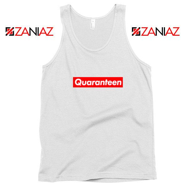 Supreme Quarantine White Tank Top