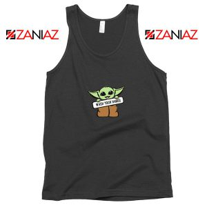 The Child Wash Your Hands Black Tank Top