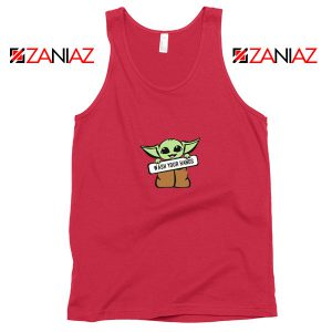 The Child Wash Your Hands Red Tank Top