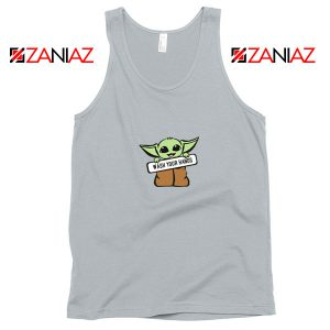 The Child Wash Your Hands Sport Grey Tank Top