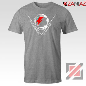 Tribute David Bowie Legend Sport Grey Tshirt