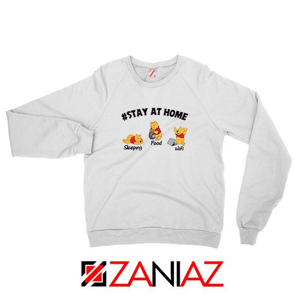 Winnie The Pooh Stay Home Sweatshirt