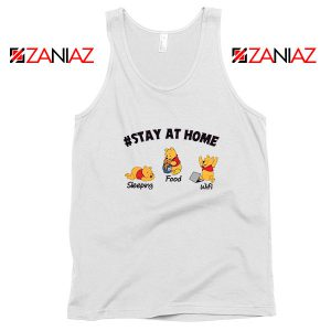Winnie The Pooh Stay Home Tank Top