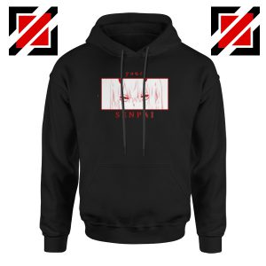Your Senpai Zero Two Black Hoodie