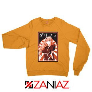 Zero Two Mural Orange Sweatshirt