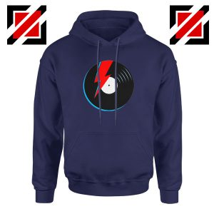 Ziggy Stardust Navy Blue Hoodie