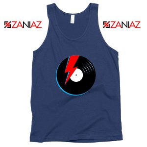 Ziggy Stardust Navy Blue Tank Top