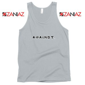 Against American Protest Sport Grey Tank Top