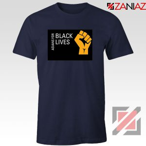 Asians For Black Lives Navy Blue Tshirt