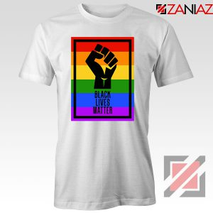 BLM Fist Rainbow Tshirt