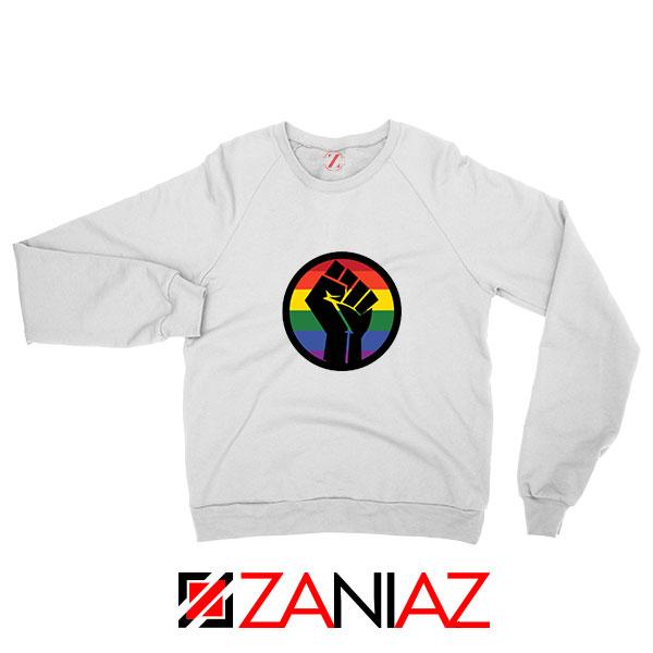 BLM LGBTQ Rainbow Sweatshirt