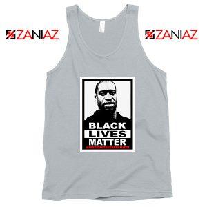 Black Lives Matter George Floyd Sport Grey Tank Top
