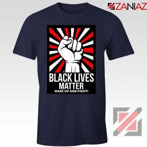 Black Lives Matter Movement Navy Blue Tshirt