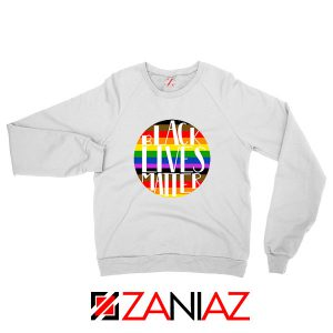 Black Lives Matter Rainbow Sweatshirt
