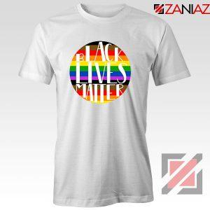 Black Lives Matter Rainbow Tshirt
