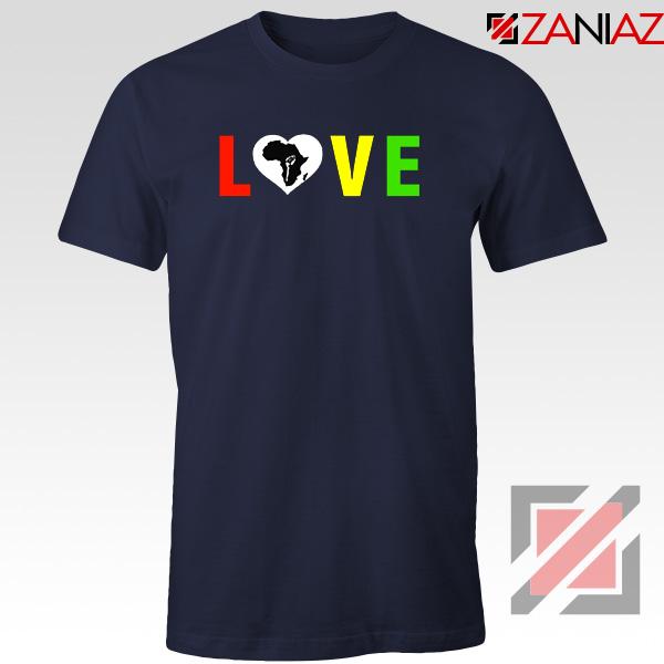 Black Lives Matters African Navy Blue Tshirt